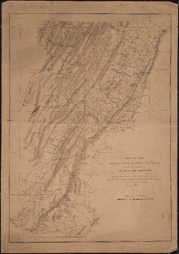 Maryland Map By City%0A Map of the Shenandoah  u     Upper Potomac including portions of Virginia and  Maryland by John Rodgers Meigs         Civil War Maps   Pinterest    Virginia and