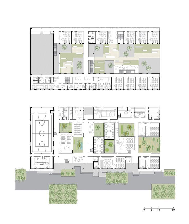 Architecture School Plan