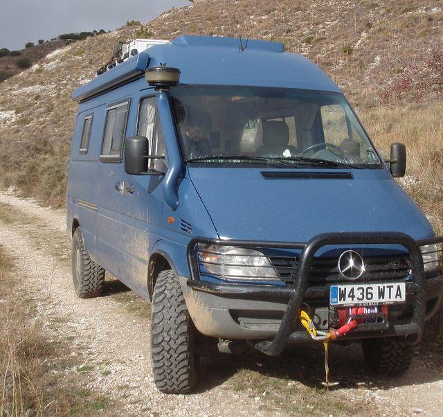 40 best mb 4x4 images on pinterest motor homes vans and for Mercedes benz sprinter 4x4 diesel