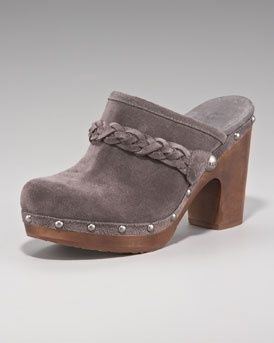 ugg boots 5825  #cybermonday #deals #uggs #boots #female #uggaustralia #outfits #uggoutlet ugg australia UGG Australia Braided Suede Clog ugg outlet