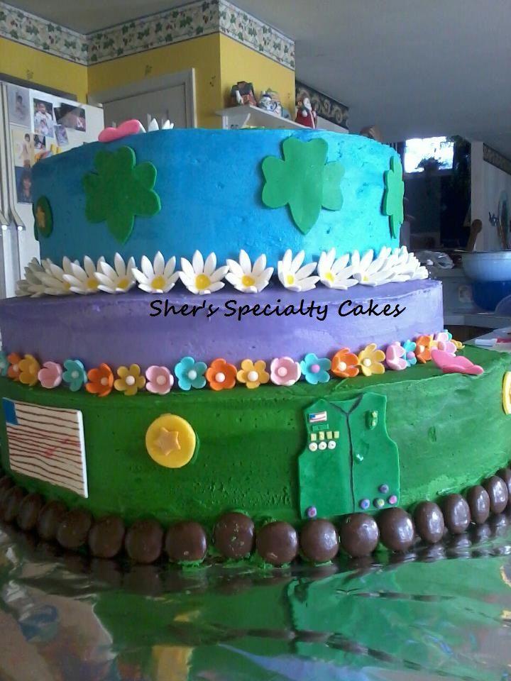 Girl Scout Rededication Cake