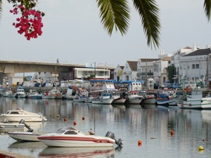 Towns like Tavira blend the old & the new. It's tidal river means there's always some action happening along the extensive waterfront