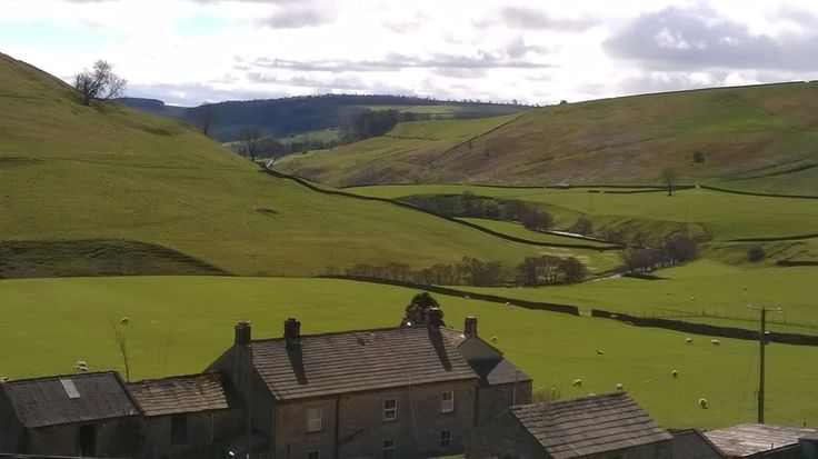 Walking from Marske near Richmond in the glorious Yorkshire Dales