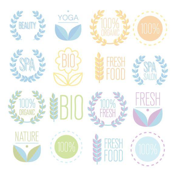 Organic,bio,ecology natural logos by Jema's on @creativemarket S:\Marketing\_MOM\Creative Market Freebies\Organicbioecology-natural-logos.zip
