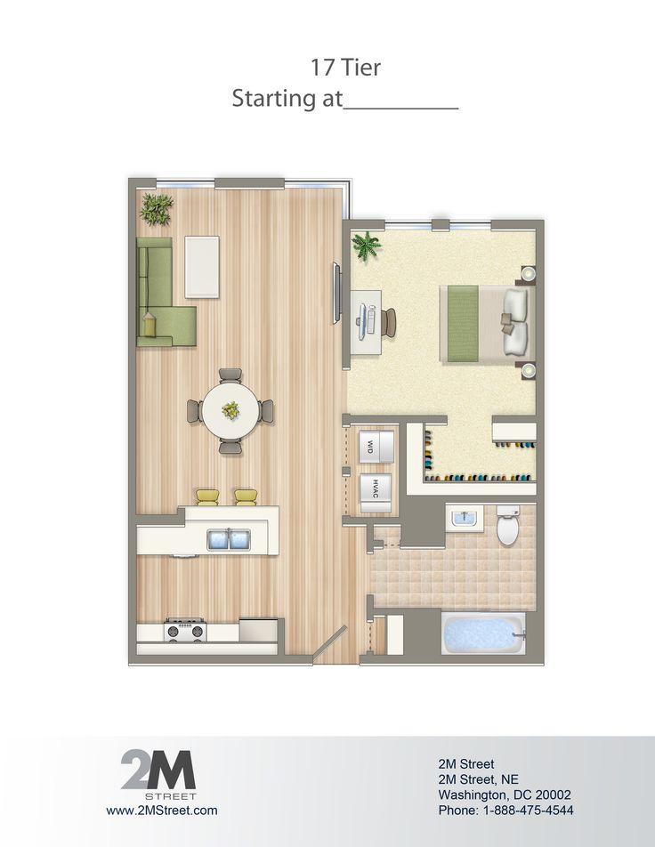 apartments plan 2m 2m street northeast washington washington dc dc wc