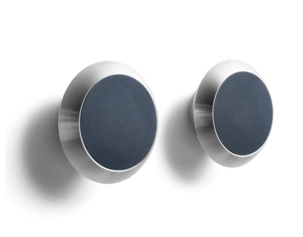 BeoLab 14 on wall brackets