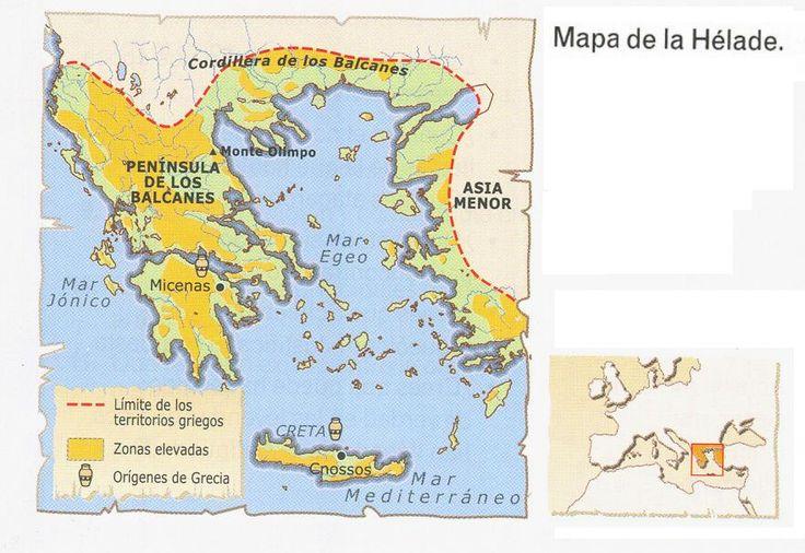 Hélade es el endónimo con el que identificaban su región los antiguos griegos.