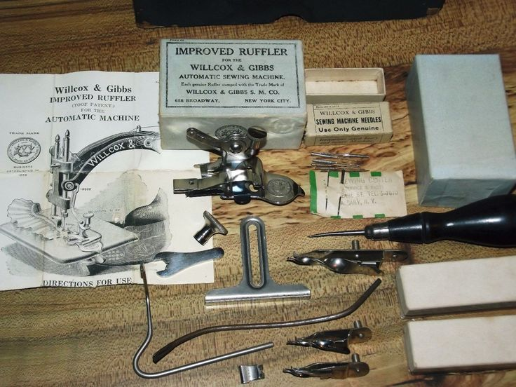 wilcox and gibbs sewing machine needles