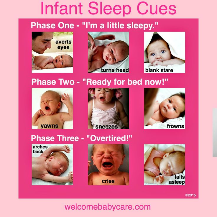 Baby Sleep Cues!  #infantsleep