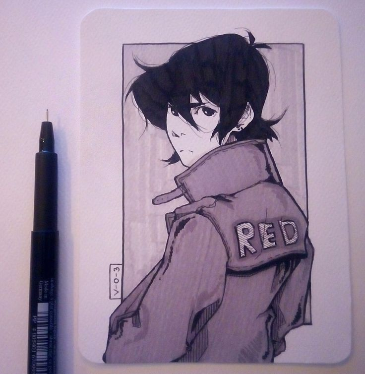 Voltron Keith - I like that wispy hair