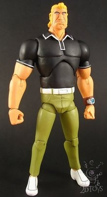 toycutter: Brock Sampson action figure (Venture Brothers)