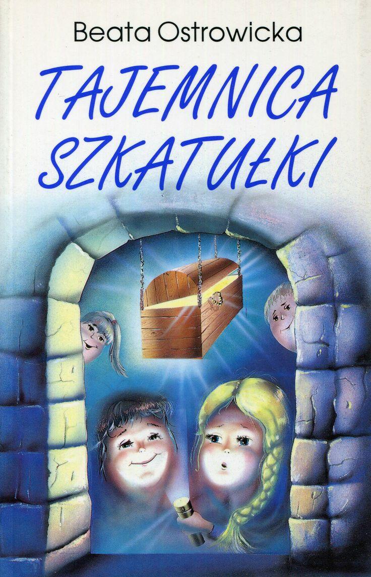 """""""Tajemnica szkatułki"""" Beata Ostrowiecka Cover by Iwona Walaszek Published by Wydawnictwo Iskry 1996"""