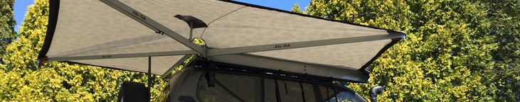 Alu-Cab Shadow Awning - Adventure Ready