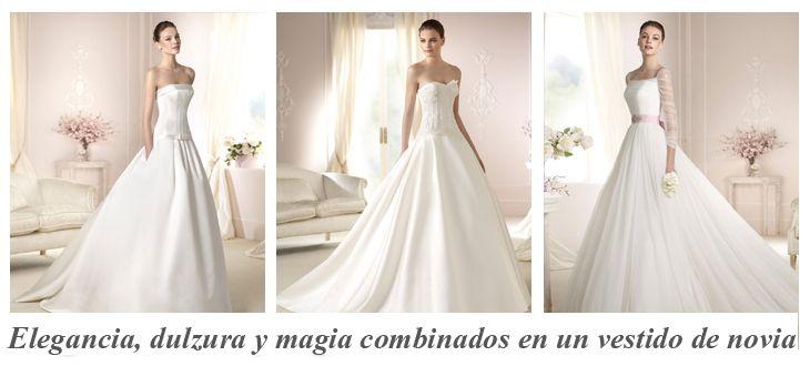 La Esencia de los #vestidosdenovia White One 2015 White One una de las marcas del Grupo Pronovias, triunfa en todo el mundo por sus diseños de novia actuales, románticos y muy económicos