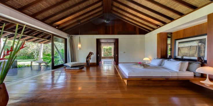 Sleeping in a beautiful, spacious bedroom. Bali. Be my