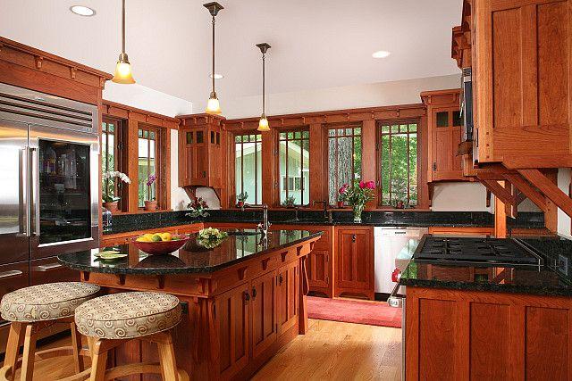 Bethesda Bungalows Kitchens.