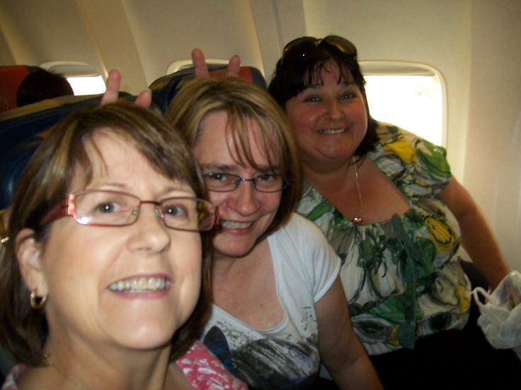 Vicki, Caroline and Trudi - Tasmania 2011