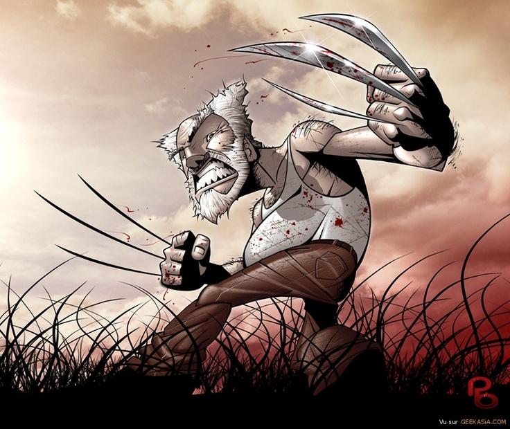 Good Old Wolverine - Une illustration du plus célèbre des X-Men par Patrick Brown