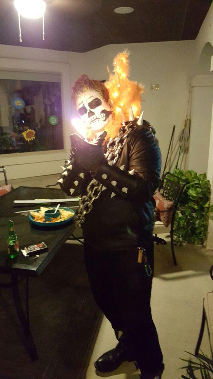 25+ bästa idéerna om Ghost rider costume på Pinterest