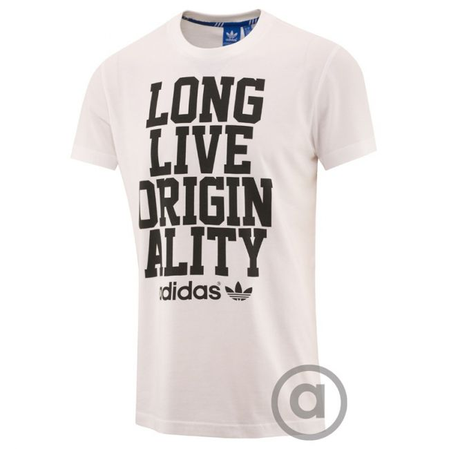 Long live originality! #adidas SLOGAN TEE #shirt #style  E-shop crish.cz