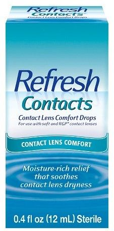 Refresh Contacts® Contact Lens Moisture Drops for Dry Eyes - 0.4 oz