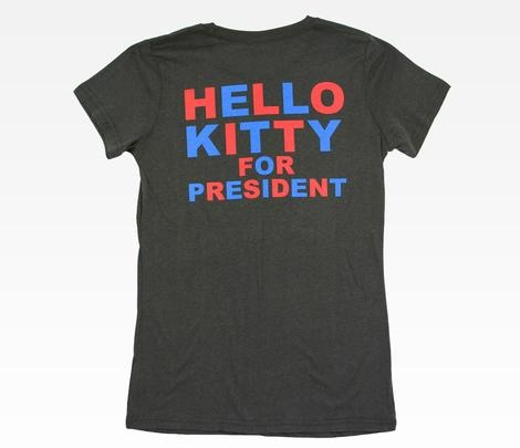 Hello Kitty for President Women's Tee: USA