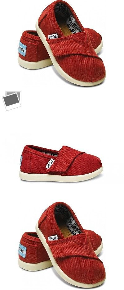 Baby Shoes 147285: Tiny Toms Classics Red Infant Toddler Baby Boy Girl Canvas Shoes Size 2-11 -> BUY IT NOW ONLY: $34.95 on eBay!