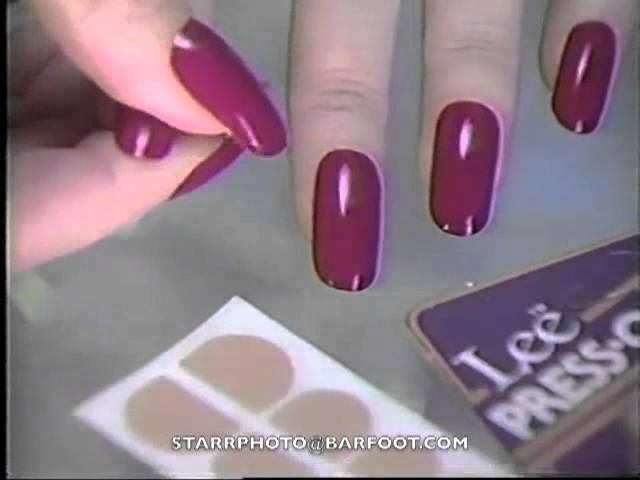 Image result for 1980s nail trends