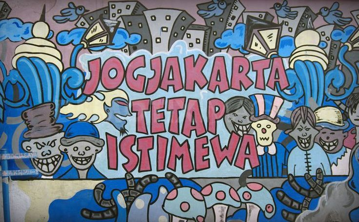 Jogjakarta has some great graffiti