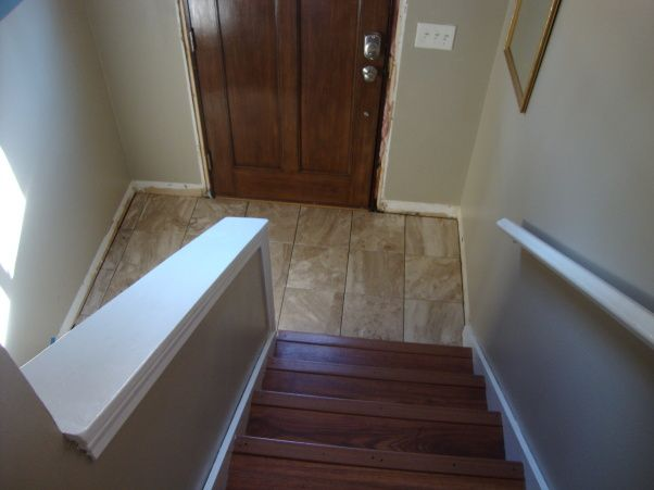 No Foyer Entry : No split level remodeling ideas entry way