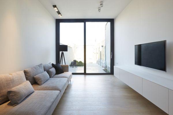 Smal huis renovatie google zoeken huis pinterest for Interieur kleurencombinaties