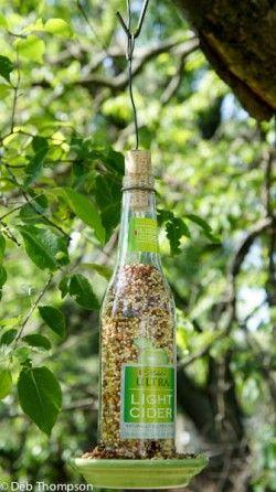 Michelob Bird Feeder Diy Bird Feeders Bottle And Glass Bottles
