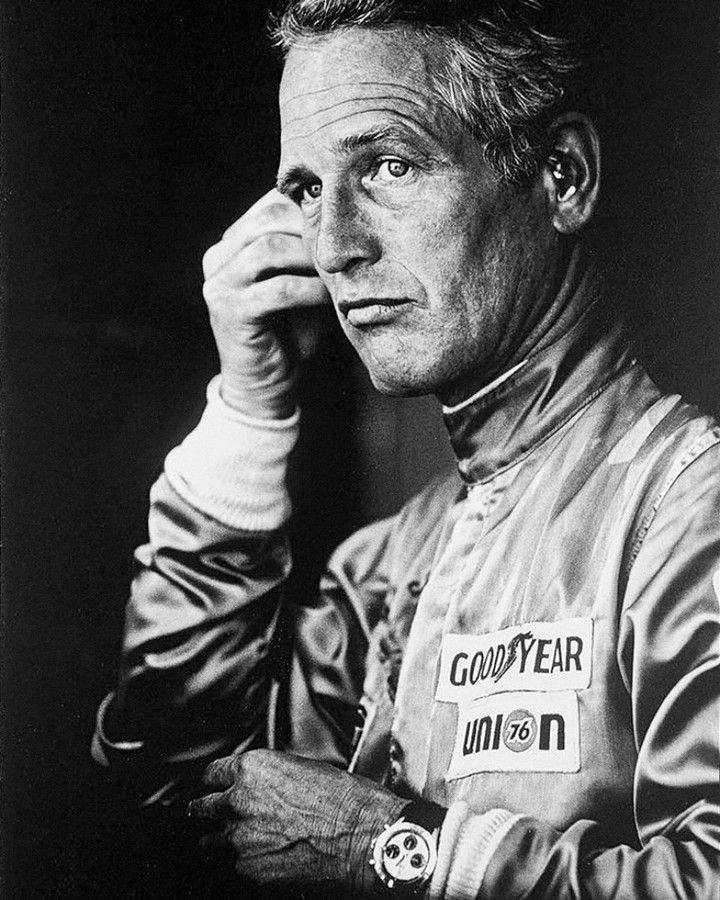 The Legend Paul Newman At Sebring Wearing His Rolex Daytona