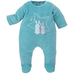 PYJAMA BEBE TURQUOISE SUCRE D'ORGE