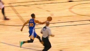 """nbagifstory: """" Stephen Curry and Andre Iguodala — Golden State Warriors """""""