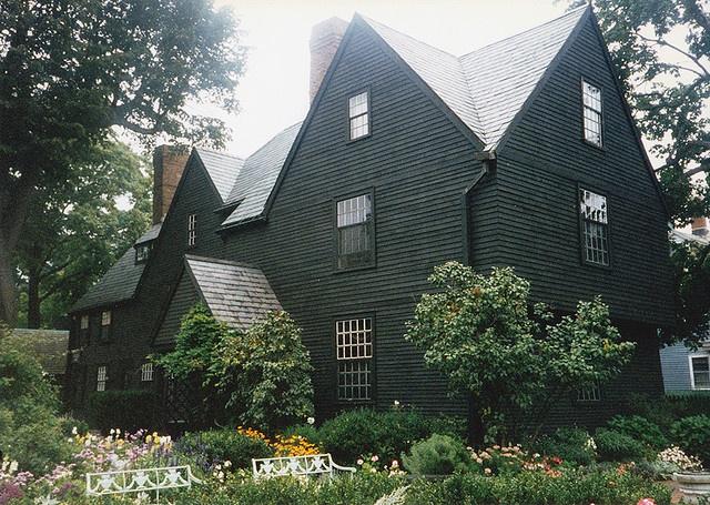 "Captain John Turner House [""House of the Seven Gables""] (1668), Salem, MA."