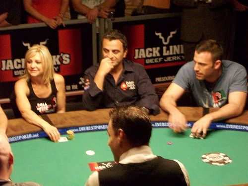 Ben Affleck – World Series of Poker celebrity poker tournament – Rio Casino, Las Vegas