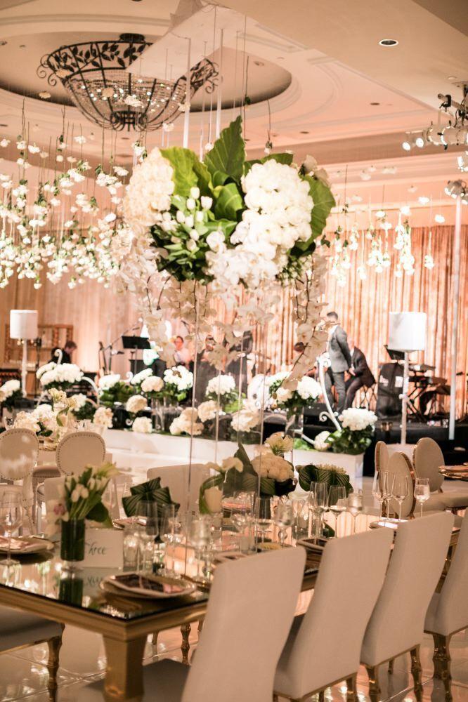 Glamorous White California Wedding At The Monarch Beach Resort
