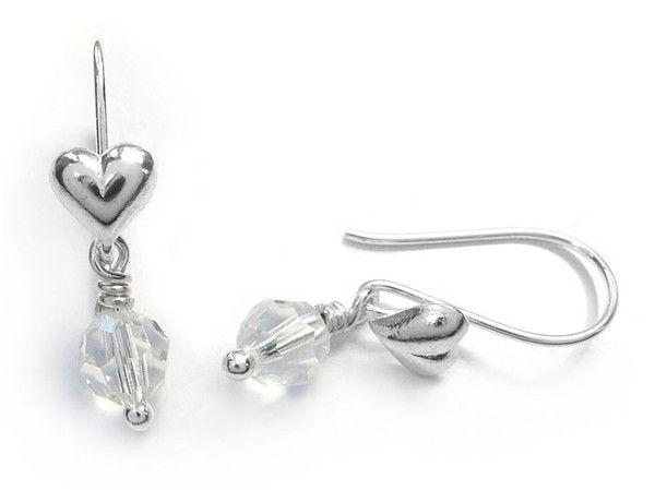 Birthstone Earrings - April Diamond
