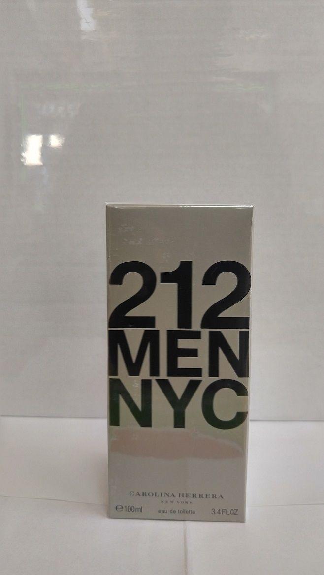 Mens Fragrances: Carolina Herrera 212 Men Eau De Toilette 3.4 Oz 100 Ml. New And Sealed Box -> BUY IT NOW ONLY: $47.99 on eBay!