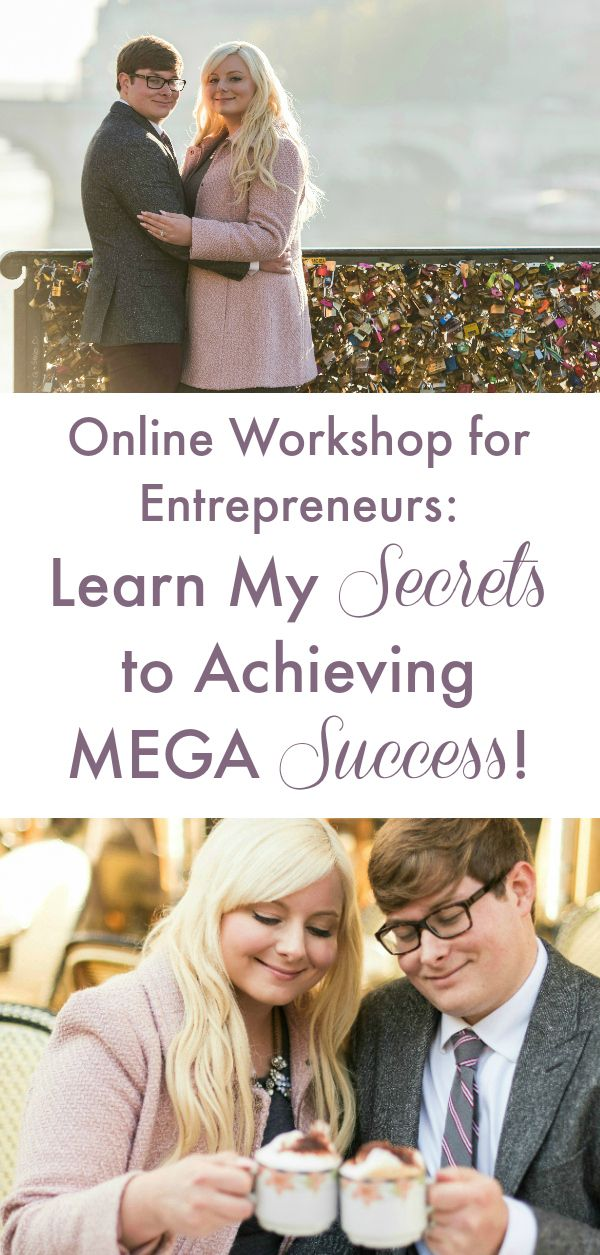 Want to generate Mega Success to live a dream lifestyle? In my free Online Workshop (exclusive for current & aspiring women entrepreneurs) I'm revealing my top 6 success secrets and strategies!