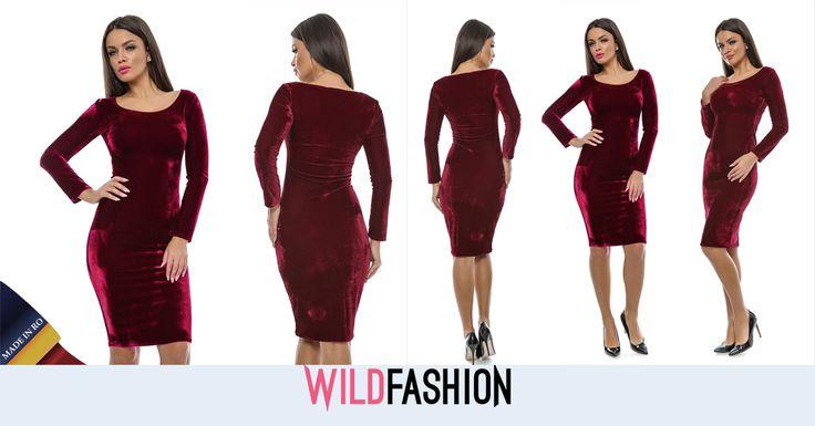 Catifeaua ramane un material vedeta in acest sezon. Vrei sa porti aceasta rochie MADE IN RO la evenimente speciale de sezon?