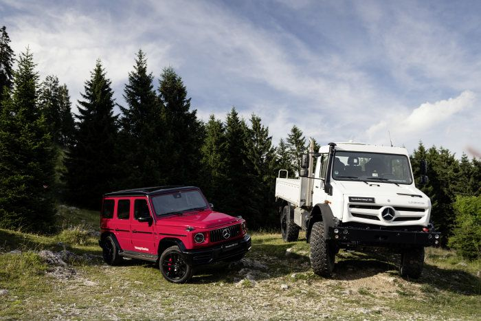 Mercedes Benz Off Road Icons Unimog And G Class Summit Of The