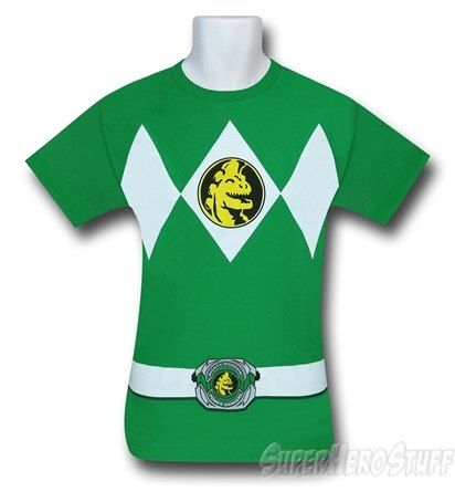 Power Rangers Green Ranger Costume T-Shirt