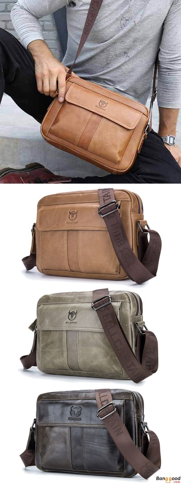 US$49.5 + Free Shipping. Men Genuine Leather Crossbody Shoulder Bag Business Messenger Bag Coffee Brown. Material: Genuine Leather. Colors: Brown, Coffee, Grey. Shop to Get This Precious Baby.