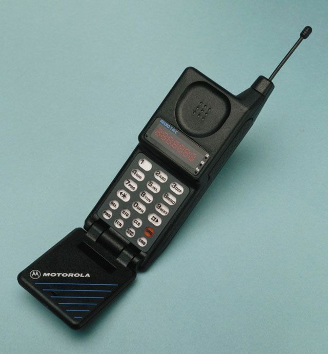 Motorola Microtac. This really brings back the old days.