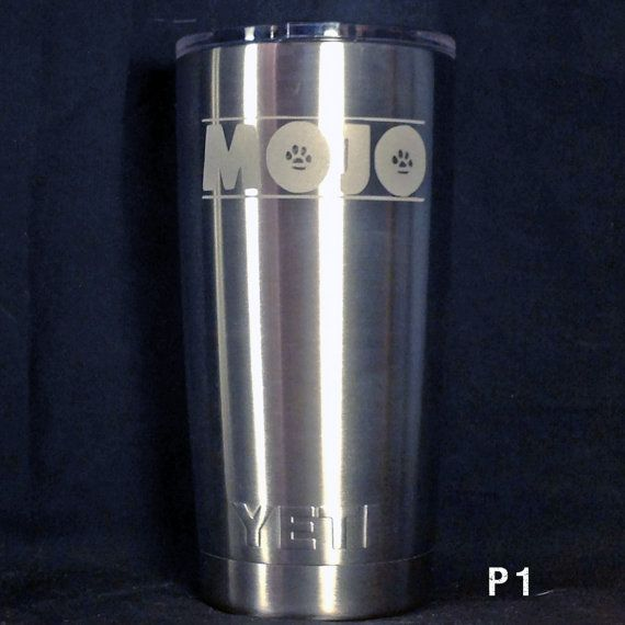 OFFICIALLY LICENSED Permian High School Panthers engraved YETI tumblers and Colsters
