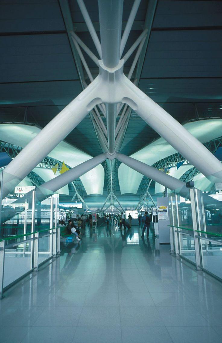 Kansai International Airport Terminal, Osaka Japan. RPBW