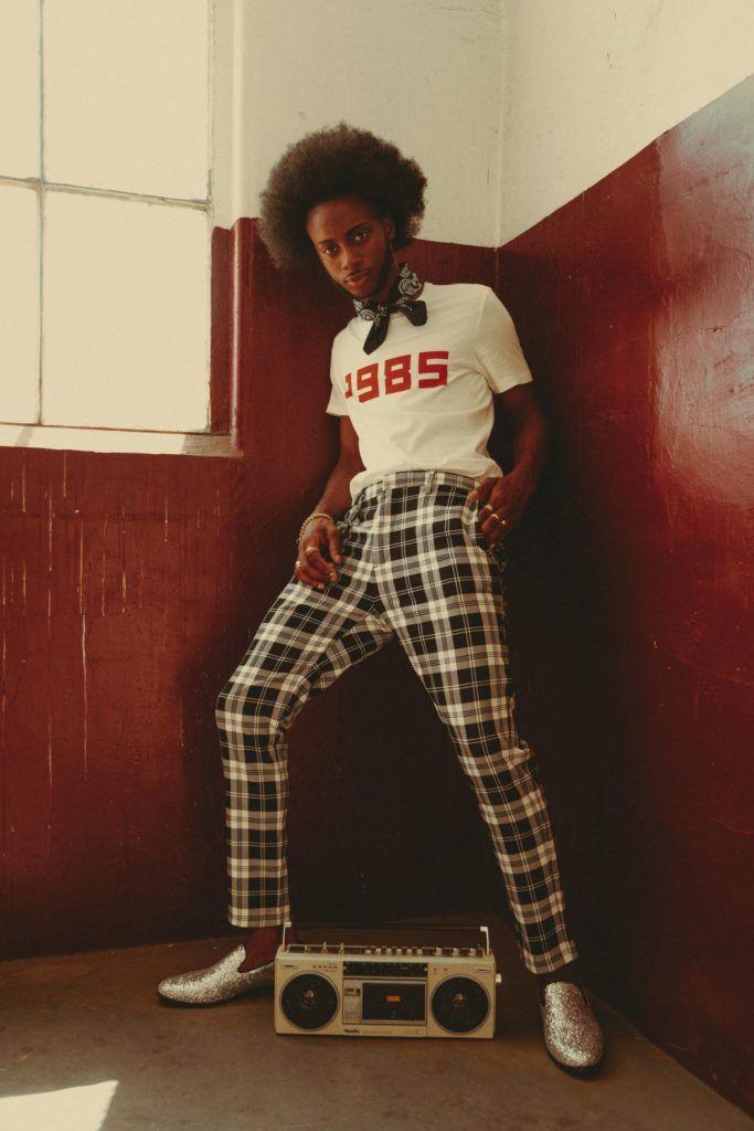 80 S Vibe 80s Fashion 1985 Club Monaco Plaid Pants Men S Fashion Vintage Men S Bandana Black Male Mod 80s Fashion Men 70s Fashion Men Black 80s Fashion