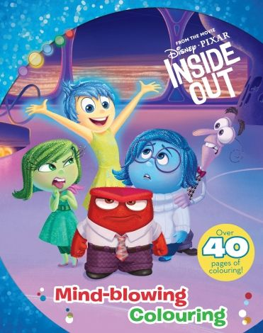 Disney Pixar Inside Out Colouring Book